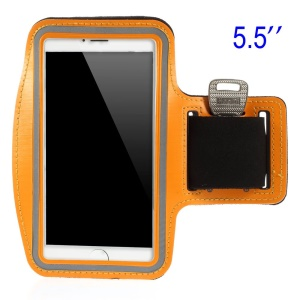 Running Sports Armband Pouch Case for Samsung Galaxy Note 3 N9005, Size: 151.2 x 80mm - Orange