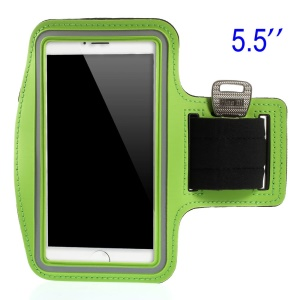 Running Sports Armband Case Pouch for Samsung Galaxy Note 3 N9005, Size: 151.2 x 80mm - Green