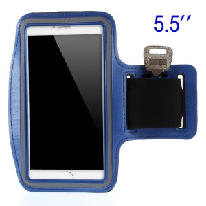 Running Sports Armband Pouch for Samsung Galaxy Note 3 N9005, Size: 151.2 x 80mm - Dark Blue