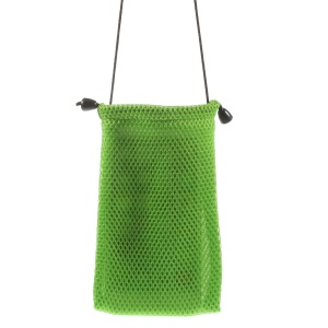 Green Mesh Design Cloth Case Pouch for iPhone 6 4.7-inch Samsung HTC Sony Etc, Size: 14.5 x 10cm