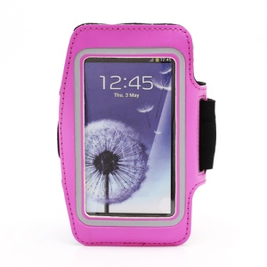 Sports Workout Gym Running Armband Case for Samsung Galaxy S 4 IV i9500 i9505 - Rose