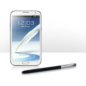 Samsung Galaxy Note 2 II N7100 Touch Stylus S Pen - Black