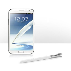 Original Disassemble Touch Stylus Pen for Samsung Galaxy Note 2 II N7100 - White