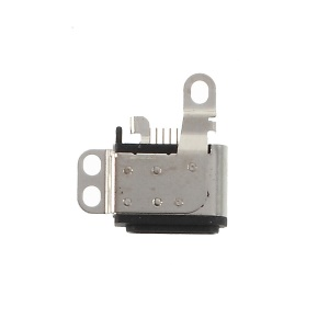 OEM Charging Port Connector Replacement for iPod Nano 7th - Black