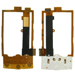 Original Nokia X3 Flex Cable with Keypad Board Replacement