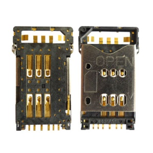 New SIM Card Holder Socket for Nokia N82