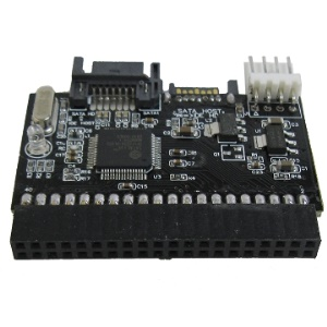 Dual IDE to SATA & SATA to IDE Function Adapter