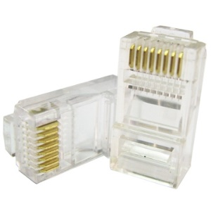 1000 PCS RJ45 RJ-45 CAT5 CAT5E Modular Plug Network Connector (Recommend A and B)