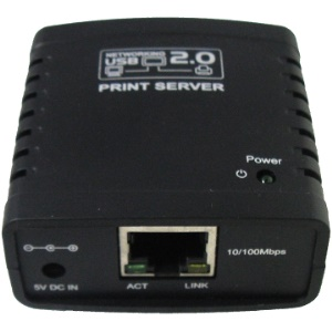 Networking USB 2.0 LPR Print Server