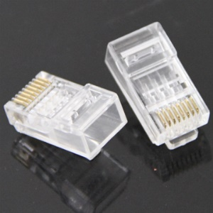 New RJ45 Cat6 8P8C Modular Plug Network Connector (1000PCS)