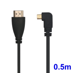 0.5m Micro HDMI to HDMI Cable for Motorola Xoom M604 Droid X