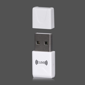 150Mbps USB Wireless Adapters WiFi LAN Card Dongle for Desktop Laptop 802.11n