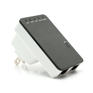 IEEE802.11 b/g/n 300Mbps Mini Wireless-N Router AP Repeater Bridge US Plug