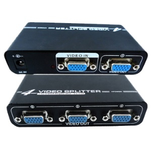 2/4port Video Splitter