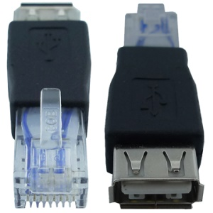 USB AF to  RJ45 adapter