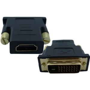 HDMI 19 PIN Female to 24+1 Male Adapter