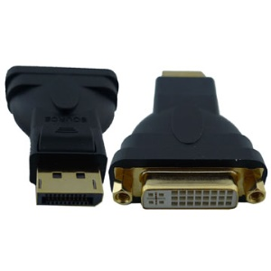Mini Displayport to DVI 24+5 Female Adapter