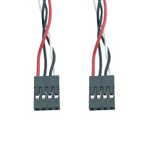 4 pin Female to 4 pin Female Power Cable(45CM),  2.54 Dupont