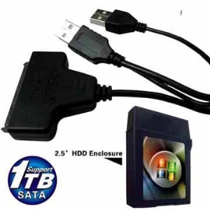 USB 2.0 to Serial ATA HDD Converter