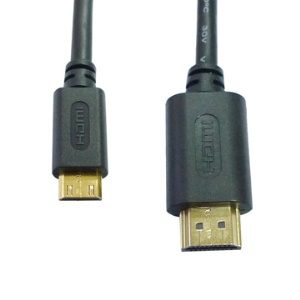 Gold Plated 1080P HDMI Mini to HDMI Digital Video Cable Type A to C(1.5M)