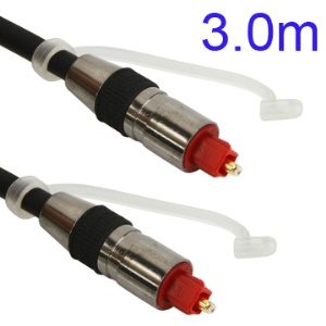 3M Nickel Plating Toslink Digital Optical Fiber Audio Cable SPDIF