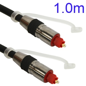 1M Nickel Plating Toslink Digital Optical Fiber Audio Cable