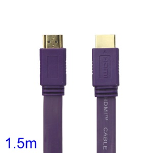 V1.4 1080P 1.5M HDMI M to M Video/Audio Cable PS3 XBOX360 Bluray Disc HDTV DVD - Purple