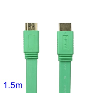 V1.4 1080P 1.5M HDMI M to M Video/Audio Cable PS3 XBOX360 Bluray Disc HDTV DVD - Green