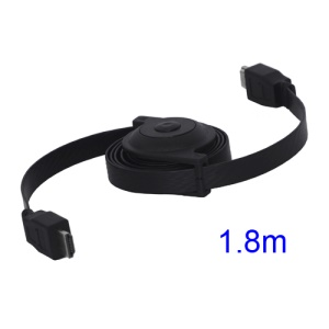 HDMI 1.3 Male to HDMI Male Retractable Reel M-M PS3 DVD HDTV Cable 1.8M