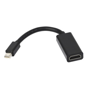 Mini DisplayPort DP to HDMI 1.4 Adapter Cable Support 3D Function - Black