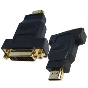 HDMI 19Pin Male to DVI 24+5 Pin Female adapter