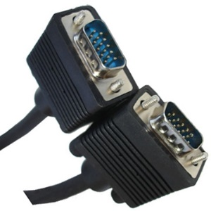 VGA 15Pin Male to VGA 15Pin Male connection (15m)