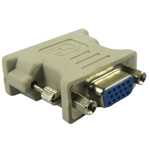 VGA 15Pin Female to DVI 24+1 Pin Male Adapter
