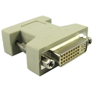 VGA 15Pin Male to DVI 24+5 Pin Female Adapter