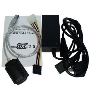 USB 2.0 to IDE & SATA Cable