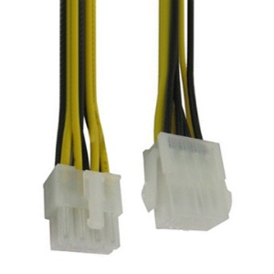 8 pin Male to 8 pin Female Power Extension Cable