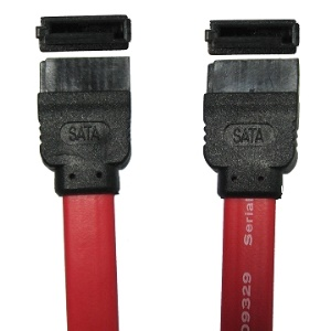 Serial ATA Data Cable without spring piece