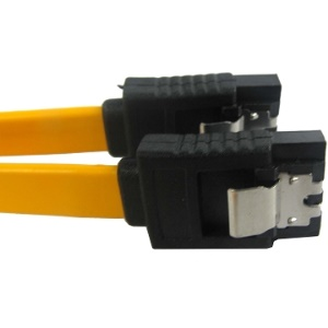 Serial ATA Data Cable with spring piece,0.5m