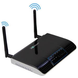 4 LAN Ports Wirelss-N Broadband Router