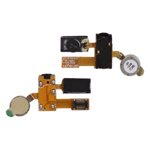 Earphone Audio Flex Cable for Samsung I5700 Galaxy Spica (Earphone Jack + Motor + Earpiece)