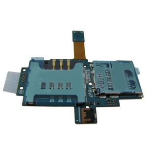 Sim Card Slot Holder Flex Cable for Samsung Galaxy S i9000