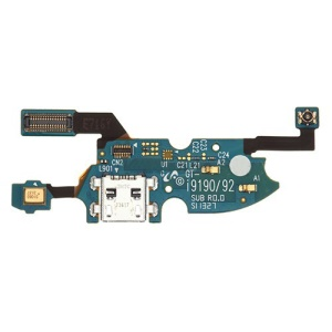 Dock Connector Charging Port Flex Cable for Samsung Galaxy S4 Mini GT-I9195 LTE (OEM)