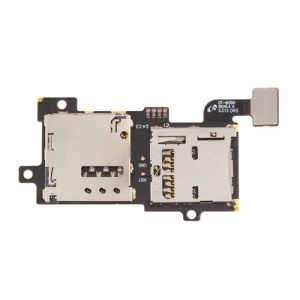 SIM Card Tray & Memory Card Slot Flex Cable for Samsung Galaxy S 3 / III I9300 OEM Replacement