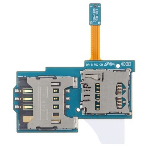 SIM Card & Memory SD Card Slot Holders Flex Cable for Samsung Galaxy S2 II T989 (for T-Mobile)