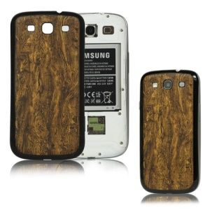 Wood Grain Back Cover Housing for Samsung i9300 Galaxy S iii