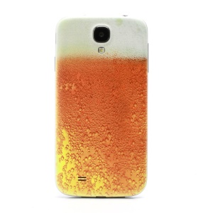 Embossed Bubble Limpid Beer Back Cover Housing for Samsung Galaxy S IV S4g i9500 i9505