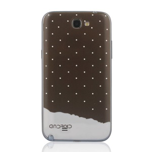Chocolate Back Cover Housing for Samsung Galaxy Note II N7100