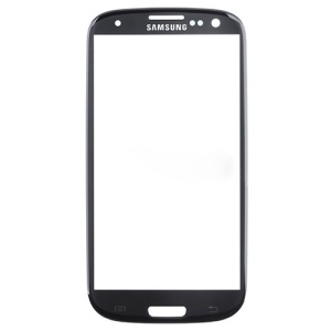 For Verizon Samsung Galaxy S III SCH-I535 Front Outer Glass Lens Cover - Black