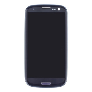Blue AT&T For Samsung Galaxy S III SGH-I747 LCD Assembly with Touch Screen + Middle Frame