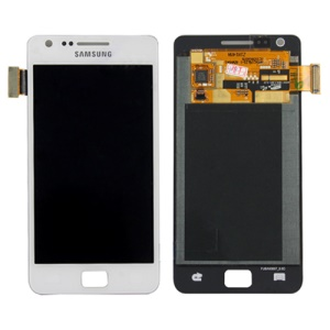 Samsung I9100 Galaxy S II / 2 LCD Assembly with Digitizer Original - White